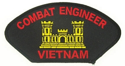 Combat Engineer Vietnam Patches